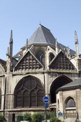 Church Eglise of Saint Severin in Latin Quarter Paris France his