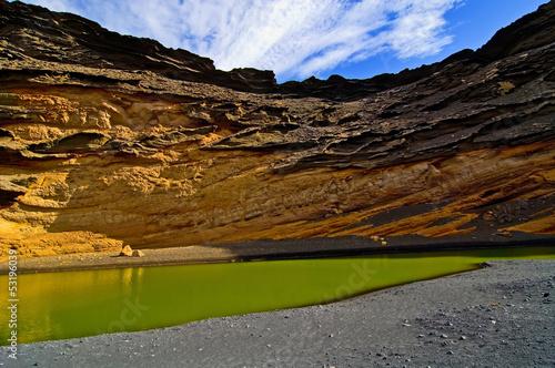 Grüne Lagune Lanzarote