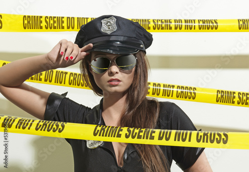 Hot Crime Scene Officer 04