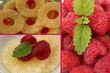 Salade de fruits - Framboise Ananas