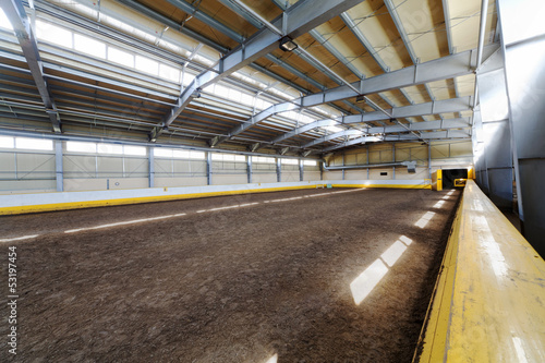 Indoor riding hall