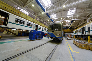 Coaches in assembling shop floor