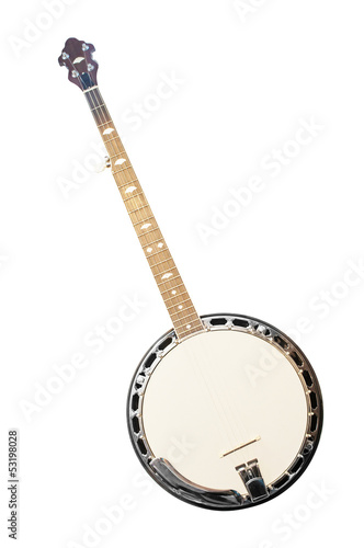 banjo isolated