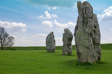 Standing stones at Avebury, England