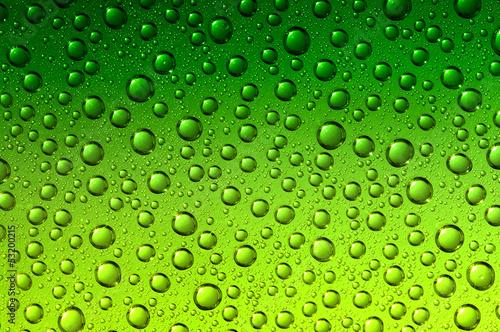 zielone-krople-wody