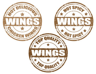 Wings-stamps