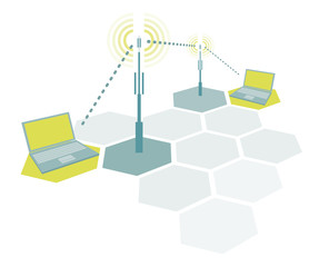 Connecting laptops / Wireless simple network communication