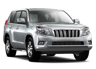Silver Luxury SUV