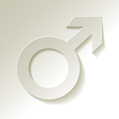 Marssymbol männliche Geschlecht
