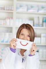 Smiling chemist
