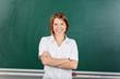 Cheerful teacher