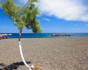 Kamari Beach Santorini