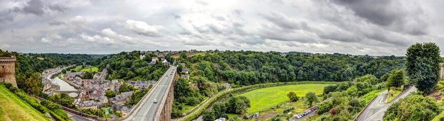 Panorama di Dinan - Bretagna