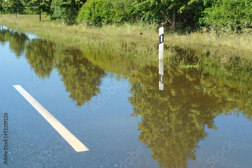 Leinwandbild Motiv Hochwasser 1