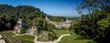 ve panoramique de la cité de palenque