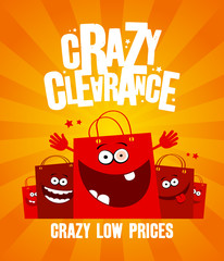 Crazy clearance banner