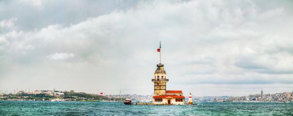 Maiden's island in Istanbul, Turkey