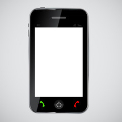 mobile phone vector illustration