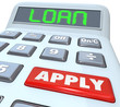 Loan Word Calculator Borrow Money Apply Financing Bank