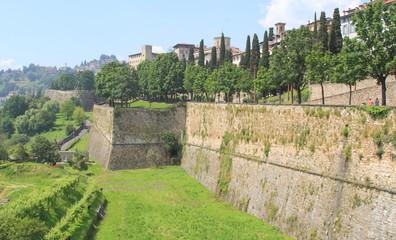 Bergamo alta, le mura
