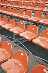 Bleachers for spectators
