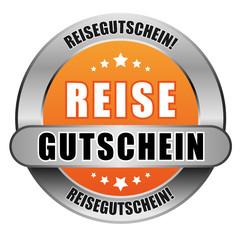 5 Star Button orange REISEGUTSCHEIN RG RG