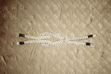 sailor knot rope ,square reef knot,