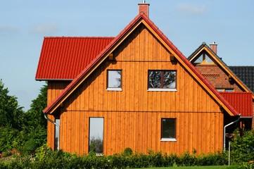 Wohnhaus, Holzhaus