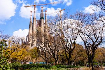Sagrada Familia by  Antoni Gaudi. Barcelona