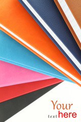 Colorful background of books