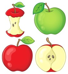 Various apples collection 1