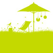 Summer Garden Canvas Chair