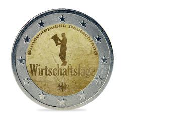 Wirtschaftslage - Münze