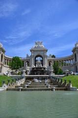 MARSEILLE : La palais Longchamp et son chateau d'eau