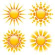 4 Orange Suns