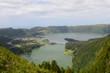 Caldeira sur l'île de Sao Miguel