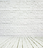 Background of light brick wall structure