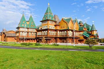 Kolomenskoye Estate, The wooden palace of Tsar