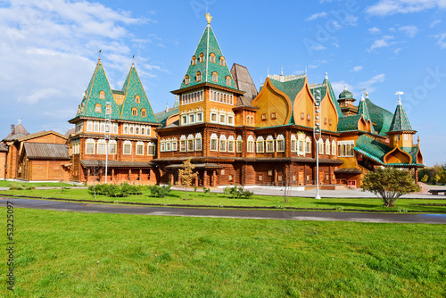 Kolomenskoye Estate, The wooden palace of Tsar