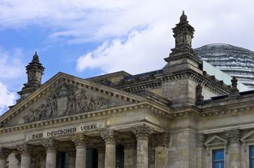 Berlin, Reichstagsgebäude und Bundestag