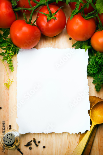 art Food background