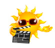 Sunshine makes a movie