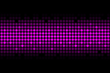Purple disco lights - vector abstract background