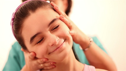 Physiotherapy for children with cervical problem