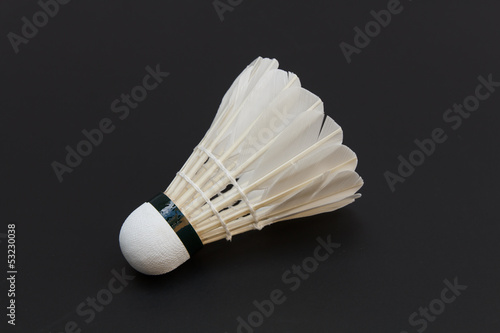 shuttlecock isolated