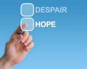Despair / Hope choice