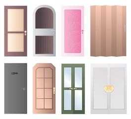 Set of doors icon