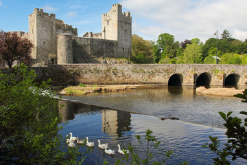 Irish castle of Cahir