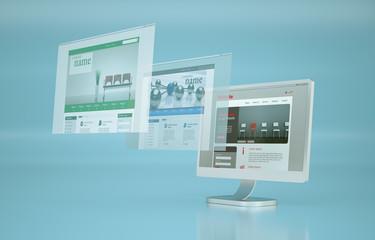 Webseiten Illustration