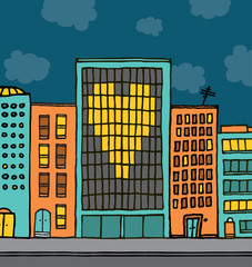 Love city valentine proposal